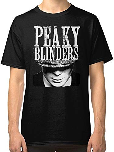 The Peaky Blinders 100% Cotton Men's Black T Shirt