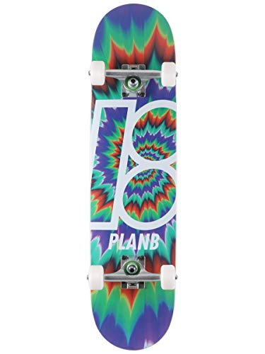 Plan B Team Tune Out 7.75 Complete Skateboard