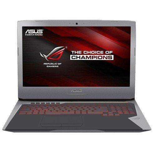 Asus ROG G752VT-GC104T Notebook, Nero, Oro, Grigio