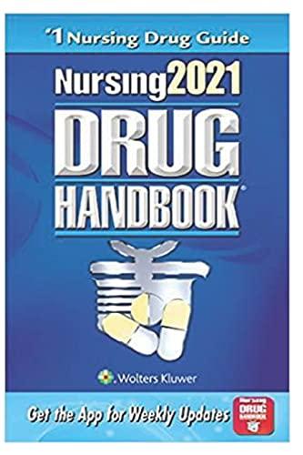 Nursing2021: (Nursing Drug Handbook) Forty-First Edition
