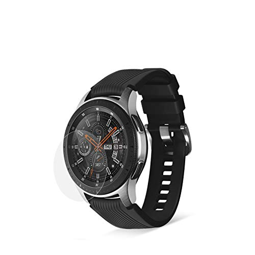 Eono Smartwatch Panzerglas [Universal 37mm] kompatibel mit Runden Smartwatch Displays u.a. Misfit Vapor 2 - HD Schutzglas [2 Stück] [37mm Displaydurchmesser]