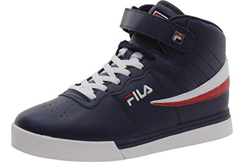 Fila Vulc 13 Mid Plus Wanderschuh für Herren, Blau (Fila Navy/White/Fila Red), 45 EU