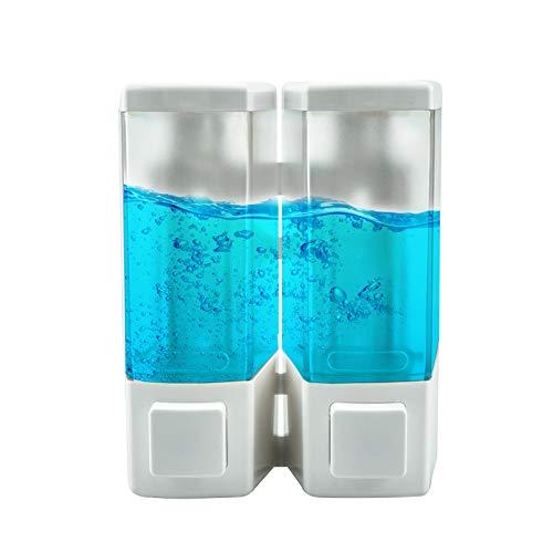 Shampoo Dispenser for Shower Wall, Dual Shower Soap Dispenser for Bathroom, Kitchen, Hotels,...