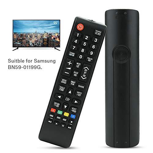 Afstandsbediening voor tv, hoogwaardige vervangende originele tv-afstandsbediening voor Samsung BN59-01199G televisie met leerfunctie