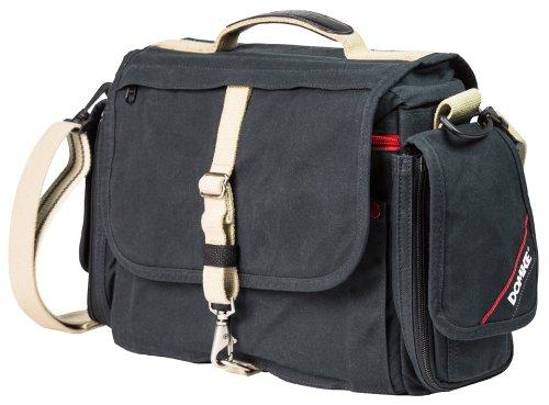 Domke Rugged Wear Herald Press Field Shoulder Bag - Black/Sand