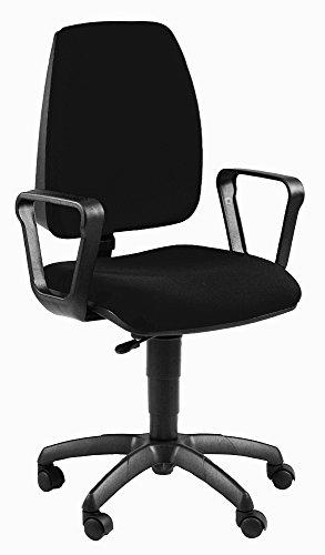 unisit jubr/EN krzesło obrotowe, czarne