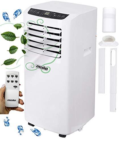 Mobile Klimaanlage | 5000 BTU | 24h Timer | Fernbedienung | Nachtmodus | 2 Geschwindigkeitsstufen | Aircooler | Klimagerät | Klima Anlage | Air Cooler | Ventilator