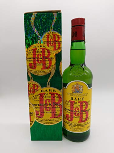J&B Rare Whisky 1970s Christmas Box