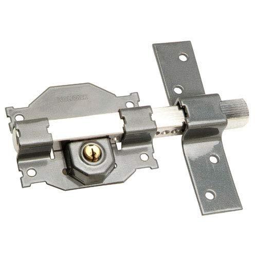 WOLFPACK LINEA PROFESIONAL 3102110 Cerrojo b-2 Llave 2 Lados Pasador de 183mm Cilindro Redondo de 50mm