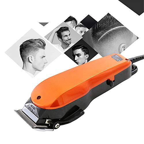 Elektrische tondeuse voor mannen en familie Gebruik Professionele tondeuse Lengte-instelling Snoerhaar Scheermachine met trimmer Kit Kappersaccessoires