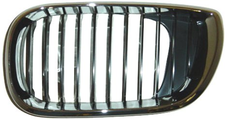 OE Replacement BMW 325/330 Driver Side Grille Assembly (Partslink Number BM1200126)