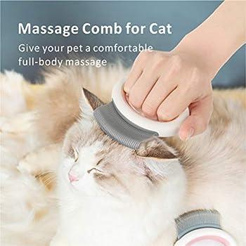 Baytion Brosse de toilettage pour Chat et Brosse de toilettage pour Chien, Peigne pour Animaux de Compagnie pour Un Massage Relaxant.