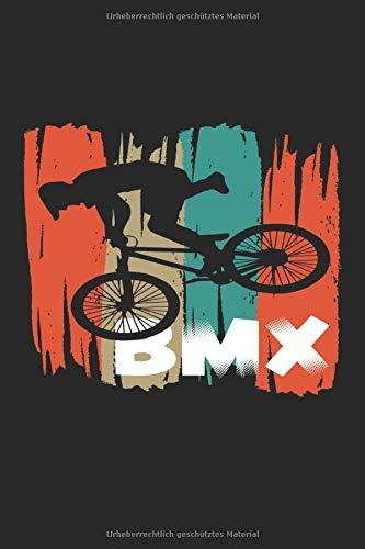 Bmx Fahrrad: Notizbuch A5 Kariert - zum planen, organisieren und notieren