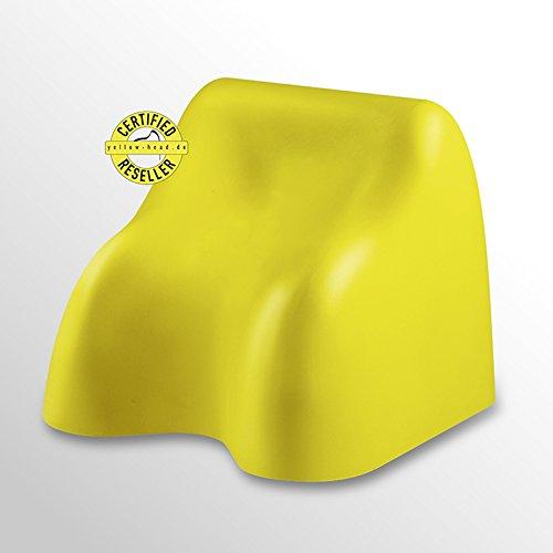 Yellow-Head Kids mit Anleitung und Aufbewahrungssack / Zur Behandlung von Kopfschmerzen sowie Beschwerden der Halswirbelsäule und des Schultergürtels