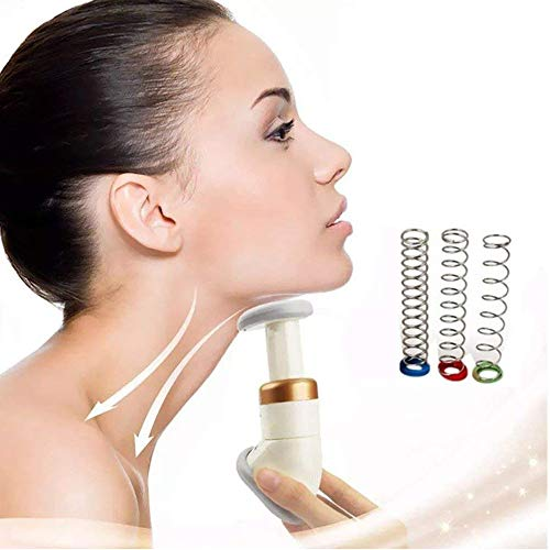 Neckline Slimmer & Toning Massager System OYOTRIC Double Chin Remover Facial Neck Line Exerciser Chin Massager, Face Lift Thin Jaw Body Massager Health Care Tool