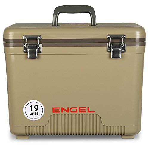 ENGEL UC19T Cooler/Dry Box 19 Qt - Tan, 19 Quart