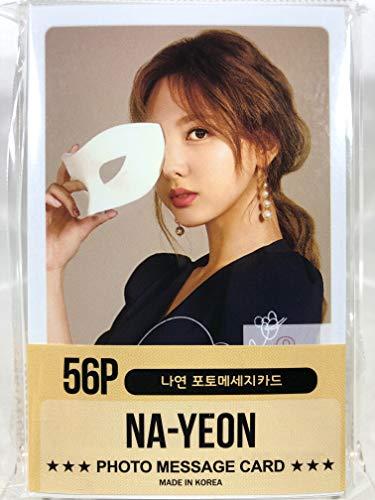 NAYEON ナヨン - TWICE トゥワイス グッズ / フォト メッセージカード 56枚 (ミニ ポストカード 56枚) セット - Photo Message Card 56pcs (Mini Post Card 56pcs) [TradePlac