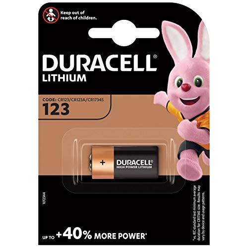 Oferta de Duracell DUR123106 - Batería de Litio (3 V, CR123A)