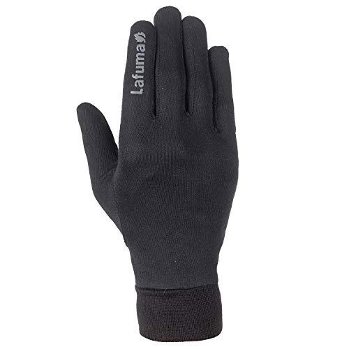 Lafuma – Silk – Sous-gants Fins et Légers pour Homme – Effet Soie – Ski et Sports Outdoors, Noir (Black), M