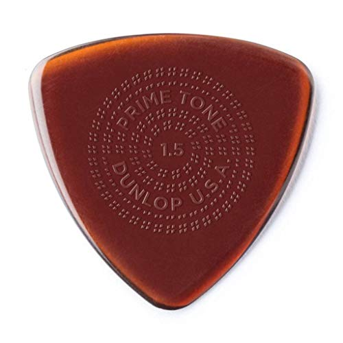 JIM DUNLOP Primetone Sculpted Plectra Triangle with Grip 512P 1.5mm ギターピック×3枚入り