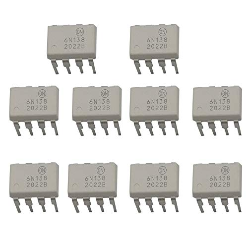 100 pieces Transistor Output Optocouplers Hi-Iso AC Input 4-Ch