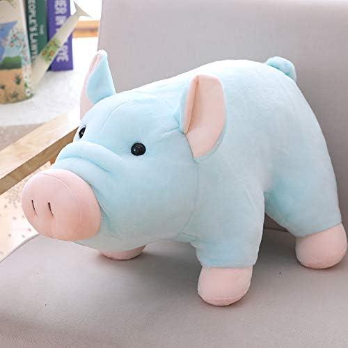 DONGER Toy Verhei gsvollen SchWeißFigur Simulation Puppe Puppe mädchen Puppe Niedlich Schlafendes, Blau, 35cm