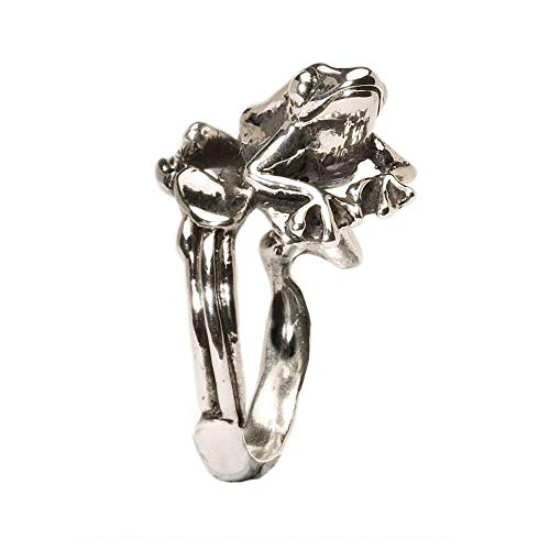 Trollbeads Anello da Donna Tree Frog in Argento 925 54 (17.2) - TAGRI-00144