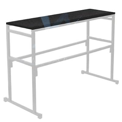 Gorilla Stands 4FT 1.2M Black Carpet board shelf for DJ Disco Lighting Stands (SHELF ONLY)