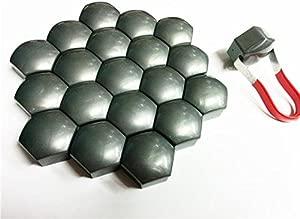Protect Original Caps With Wheel Nut Bolt Grey Covers 21mm Diam New