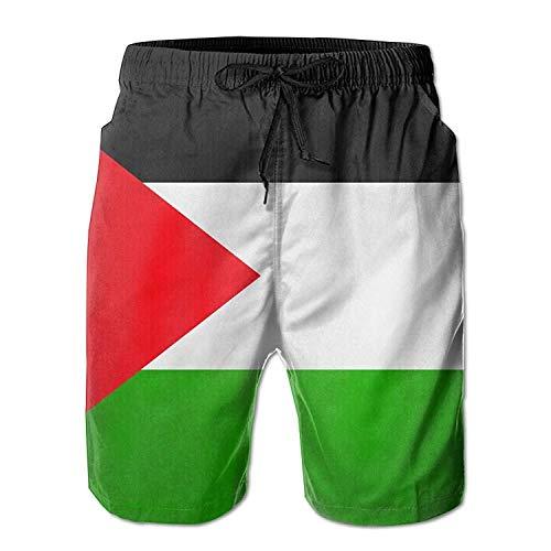 Bandera Palestina Ocio Cool Impresión en 3D Hombres ultraligeros Navegación en Verano...
