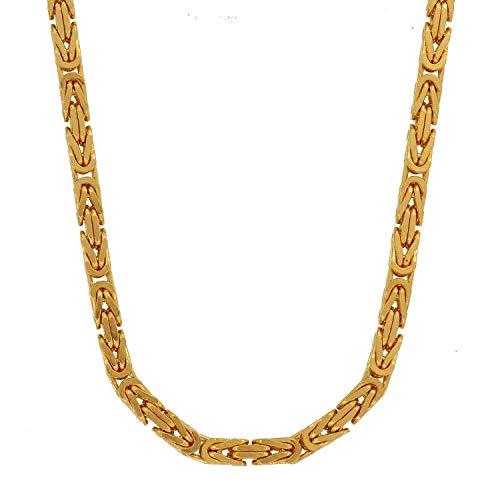 2,3 mm 45 cm 585-14 Karat Gelbgold Königskette massiv Gold hochwertige Halskette 20,2 g