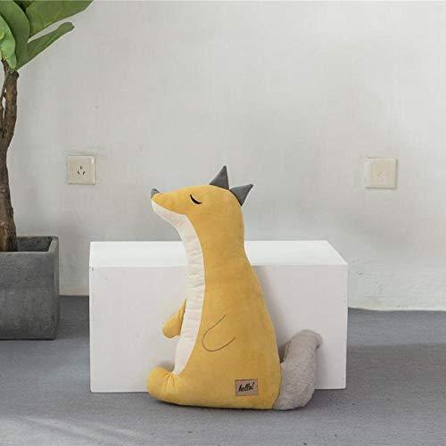 Juguete de Peluche Animal de Dibujos Animados Suave Conejo Muñeca de Peluche Sofá Silla Almohada Cojín Regalo de cumpleaños para niños-55Cm_2
