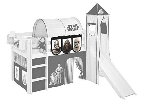 Lilokids Hängetaschen Star Wars Schwarz - für Hochbett, Spielbett und Etagenbett