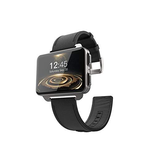 LEMFO LEM4 Pro Android Smartwatch Handy unterstützt GPS SIM Karte MP4 Bluetooth WiFi Smartwatch Abendessen Großbildbatterie 1GB + 16GB Uhr-für Männer, Frauen und Kinder,Black