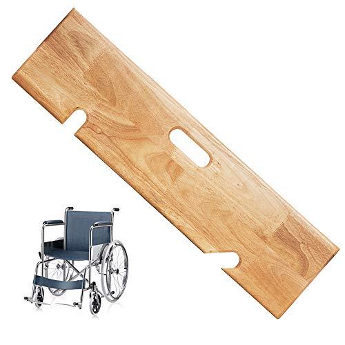 Slide Transfer Board, Wooden Transfer Board Assist Device of Seniors and Handicap,Heavy Duty Slide Boards for Transfers,440 lb Capacity