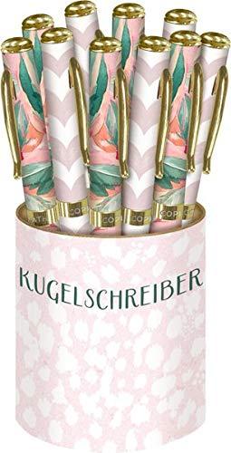 Kugelschreiber - All about rosé: 2 Designs in Displaydose