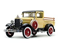 1931 Ford Model A Pickup Truck Bronson Yellow with Black Top 1/18 Diecast Model Car by SunStar 6114 商品カテゴリー: ダイキャスト [並行輸入品]