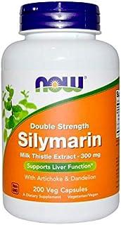 Now Foods, Double Strength Silymarin, 300 Mg, 200 Vegan Caps