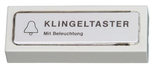 Kopp 205401028 Klingelplatte Kunststoff mit Beleuchtung