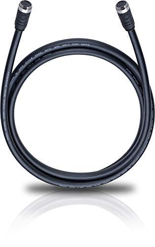 Oehlbach 19-PIN MultiLine Installationskabel für HDMI Heimvernetzung mit 19-Pin-Belegung (1080p, 4K, UltraHD, HDR, 2160p, 3D, 21:9) schwarz 2,20 Meter