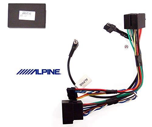 Alpine APF-S100PS adaptateur et connecteur de câbles - adaptateurs et connecteurs de câbles (8 Pin, Male/Male, Noir)