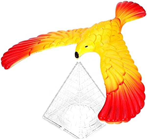 Wrisky Magic Balancing Bird Science Desk Toy W Base Novelty Eagle Fun Learn Gag Gift