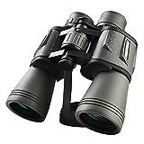 Binoculares 16X50 Gran Angular de nitrógeno a Prueba de Agua, duraderos y Transparentes para Viajar, Hacer Turismo, Deportes al Aire Libre