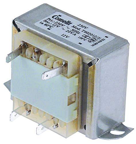 Transformador 230V/12V 20VA Adaptabilidad Angel PO FIMAR GGF SAGI Batidora de temperatura...