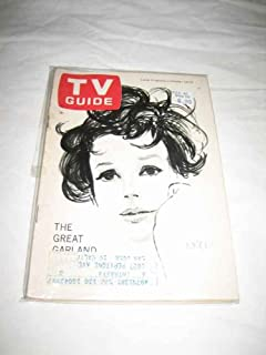 TV Guide V 11 # 42 Oct 19 1963 Great Garland Gamble Tim Conway McHales Navy