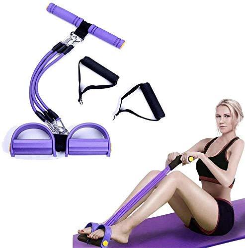 CYSHAKE Multifunktionale Zugseil, Bauchtrainingsgerät, Widerstand Band Übung zu Hause, Zugseil Yoga 3 Pfeifen