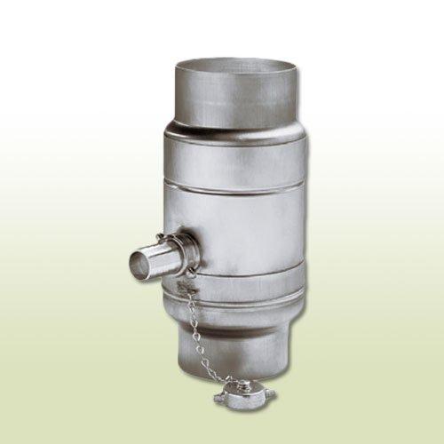 Zink Regenwassersammler DN 100 mit Schlauchpaket