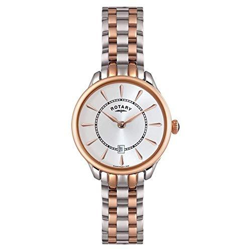 Rotary Damen Uhr Analog Quarz Mit Edelstahl LB02917/02