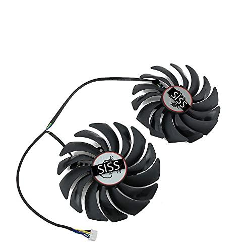 Ventilador para tarjeta gráfica MSI GTX1080Ti 1080 1070 1060 RX470 480 570 580 gaming