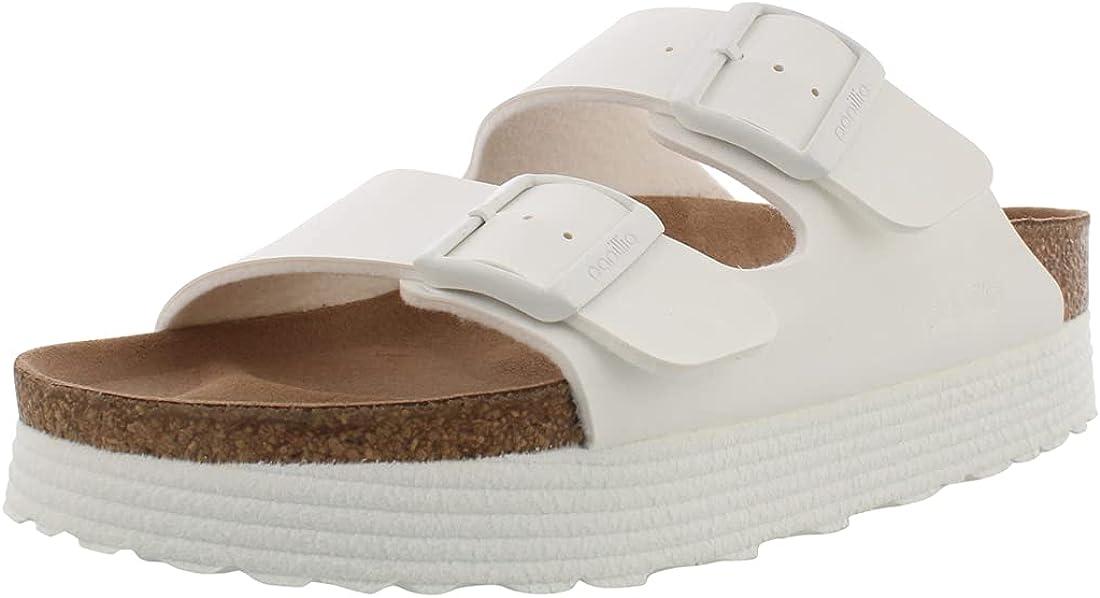 Birkenstock セール特価品 Women's Arizona 『1年保証』 Platform - Width Narrow Sandal